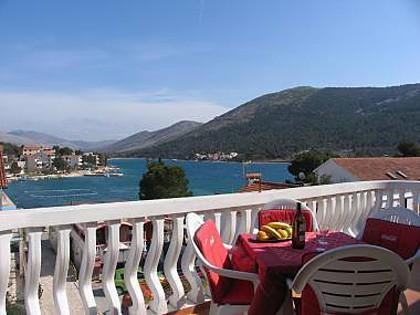 A2(4+1): terrace view - 2848  A2(4+1) - Grebastica - Grebastica - rentals