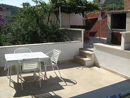 A2(2+1): terrace - 2190 A2(2+1) - Povlja - Povlja - rentals