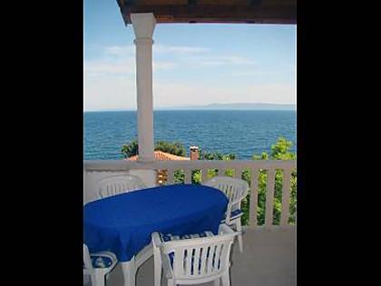 A1(4): terrace view - 2435 A1(4) - Cove Puntinak (Selca) - Cove Puntinak (Selca) - rentals