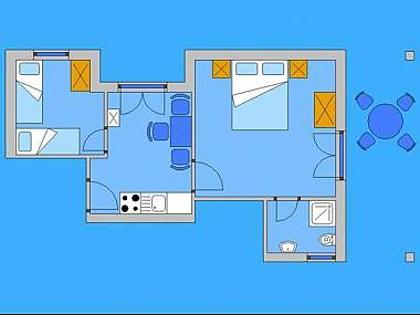 A2(4): apartment - 2893 A2(4) - Pag - Pag - rentals
