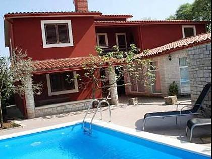 swimming pool (house and surroundings) - 2918 A2 Ulika(4)  - Krnica - Krnica - rentals
