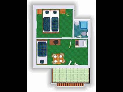 A1(2+1): apartment - 2990 A1(2+1) - Slatine - Slatine - rentals