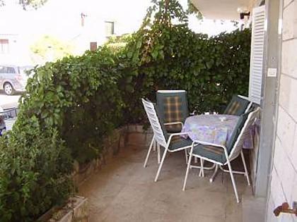 A6(4): terrace - 01303JELS A6(4) - Jelsa - Jelsa - rentals