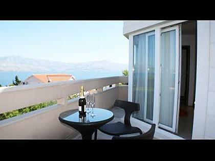 SA4(2): common terrace - 3235 SA4(2) - Splitska - Splitska - rentals