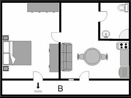 Red(2): floor plan - 3362  Red(2) - Medulin - Medulin - rentals