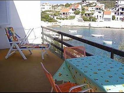 A1(4+1): covered terrace - 3424 A1(4+1) - Cove Ostricka luka (Rogoznica) - Cove Kanica (Rogoznica) - rentals