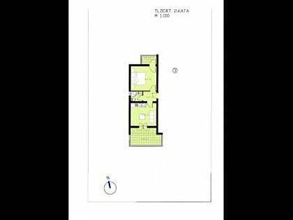 A3(2+1): floor plan - 3515 A3(2+1) - Makarska - Makarska - rentals