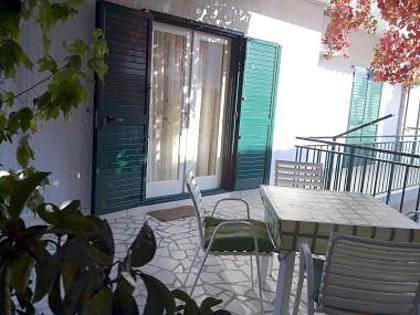A2(4): terrace - 3609  A2(4) - Primosten - Primosten - rentals