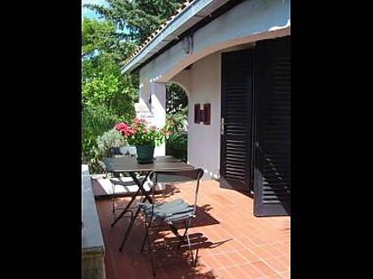SA2(2): terrace - 3669  SA2(2) - Promajna - Promajna - rentals