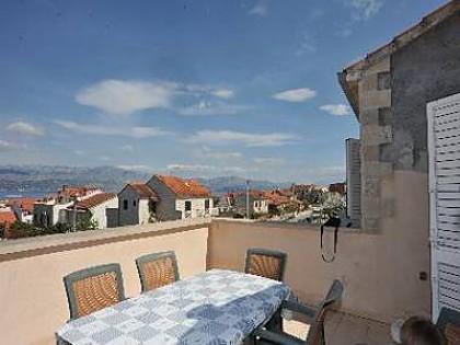 A4(4+2): terrace - 2151 A4(4+2) - Supetar - Supetar - rentals