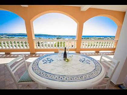 A1(4+2): terrace - 3672 A1(4+2) - Banjol - Banjol - rentals