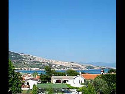 A1(4+1): terrace view - 3703 A1(4+1) - Baska - Baska - rentals