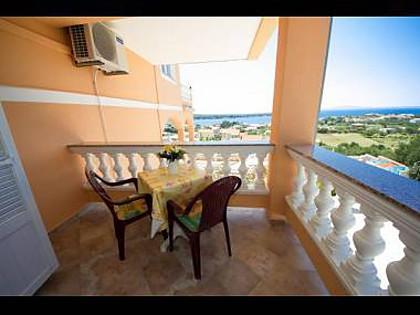 A2(2+2): terrace - 3672 A2(2+2) - Banjol - Banjol - rentals