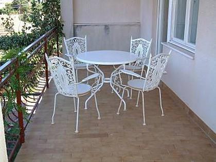A1(8+1): terrace - 00507VINI A1(8+1) - Vinisce - Vinisce - rentals