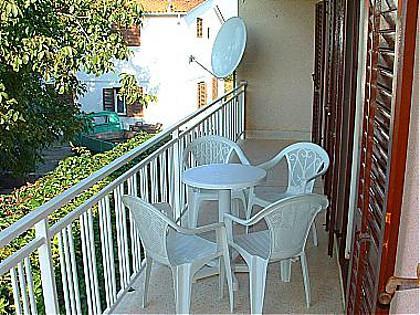 A1(3+2): balcony - 00210BETI A1(3+2) - Betina - Betina - rentals