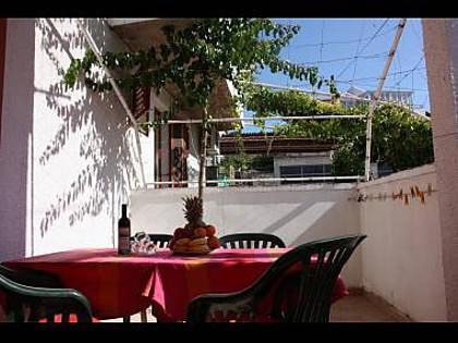 A4(2+1): covered terrace - 00610TISN  A4(2+1) - Tisno - Tisno - rentals