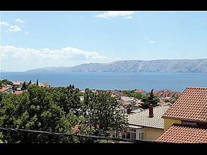 A1 veliki (4+2): terrace view - 4115  A1 veliki (4+2) - Novi Vinodolski - Novi Vinodolski - rentals