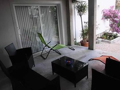 A5(2+2): garden terrace - 00117KUCI A5(2+2) - Kuciste - Kuciste - rentals
