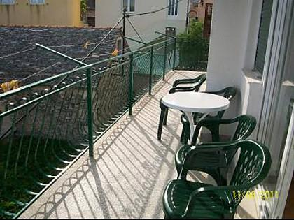 A1(4+2): terrace - 4399  A1(4+2) - Primosten - Primosten - rentals