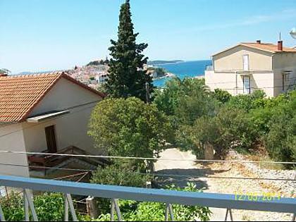 Sunce (2): terrace view - 4400  Sunce (2) - Primosten - Primosten - rentals