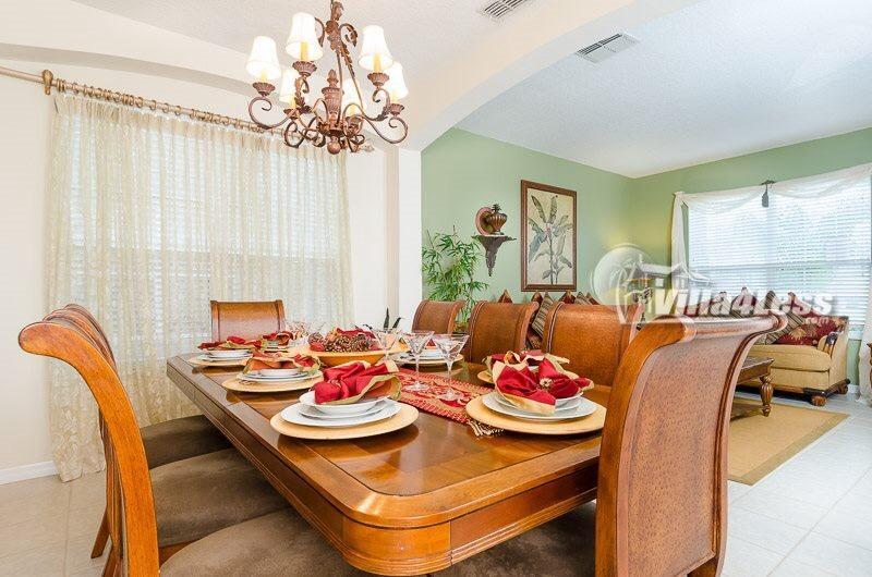 Living/Dining Room - The Emerald Star - FLIPKEY's Top Vacation Villa!! - Kissimmee - rentals