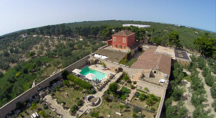 Enjoy an authentic stay in a historic villa in the Italian countryside - Villa Cappelli - Terlizzi - rentals