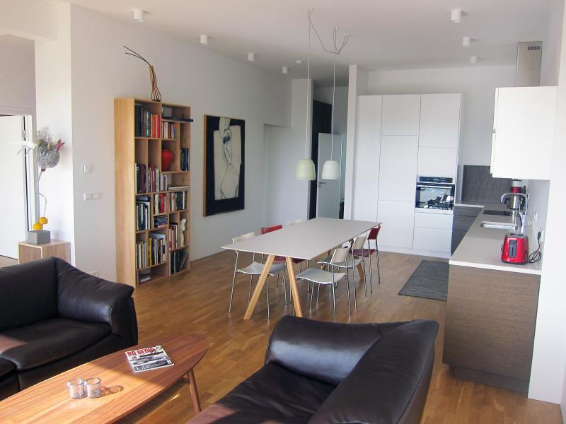 Living room - Harbour Luxury View - Reykjavik - rentals