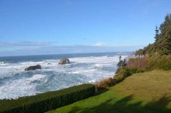 View from upper deck  - Sunset Retreat - 67436 - Arch Cape - rentals
