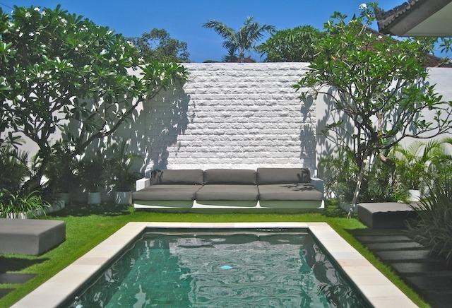 Villa Putih looking out from Living room - Villa Putih, Luxury 3 Bedroom Villa in Seminyak - Seminyak - rentals