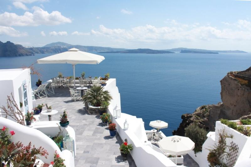Aris Caves with the Santorini panorama - ARIS CAVES, Traditional Cave Houses - Oia - rentals