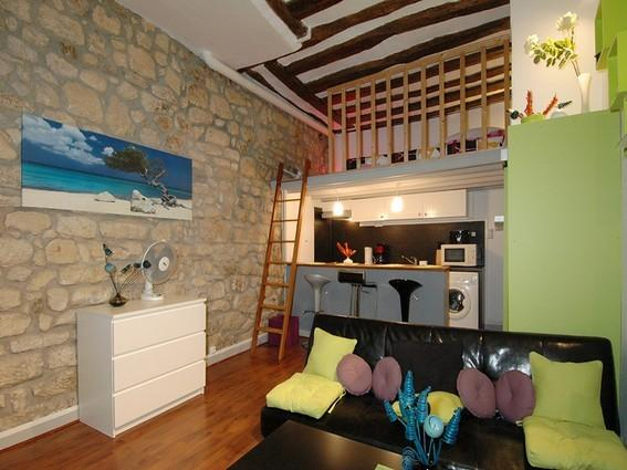 Call Us for this 4p flat in the Latin Quarter #135 - Image 1 - Paris - rentals