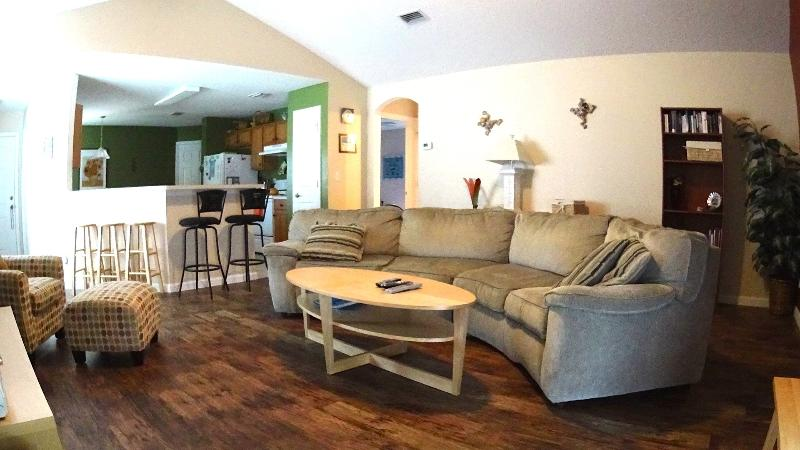 Our spacious living area allows families to spend quality vacation time together. - Best reviewed, spacious Home welcoming your pets. - Saint Augustine - rentals