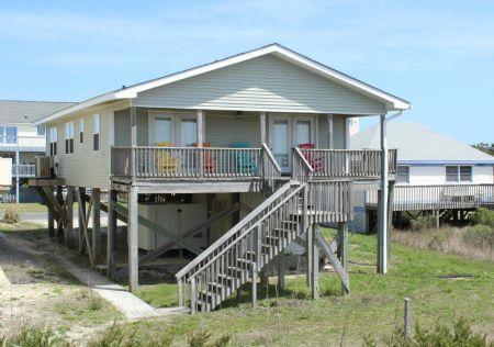 Fontana Villa Front - Fontana Villa - Oak Island - rentals