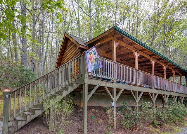 Nearly Eden | Mountain Getaway with Hot Tub and Fireplace - Image 1 - Black Mountain - rentals
