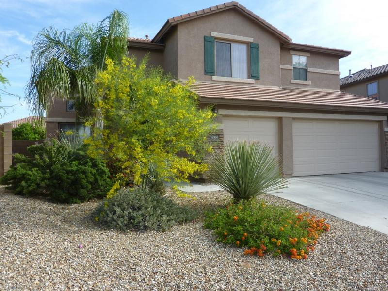 Spring coming with flora blooming - relaxed living, 4bd 3bth, heated pool, Waddell, AZ - Waddell - rentals