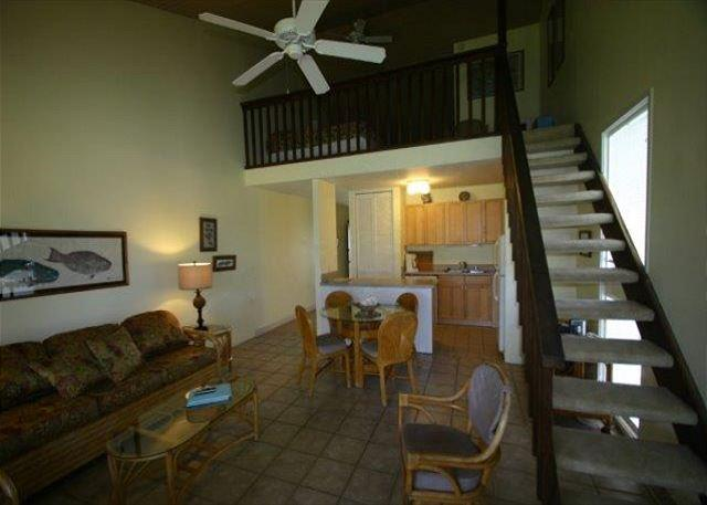 Living Area - Turtle Bay 020 West ** Available for 30 day rentals. Please call - Kahuku - rentals