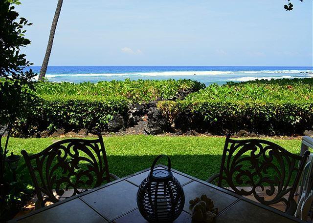 KKSR#3 $115.00 all of May-June! Direct Oceanfront Townhome!! - Image 1 - Keauhou - rentals