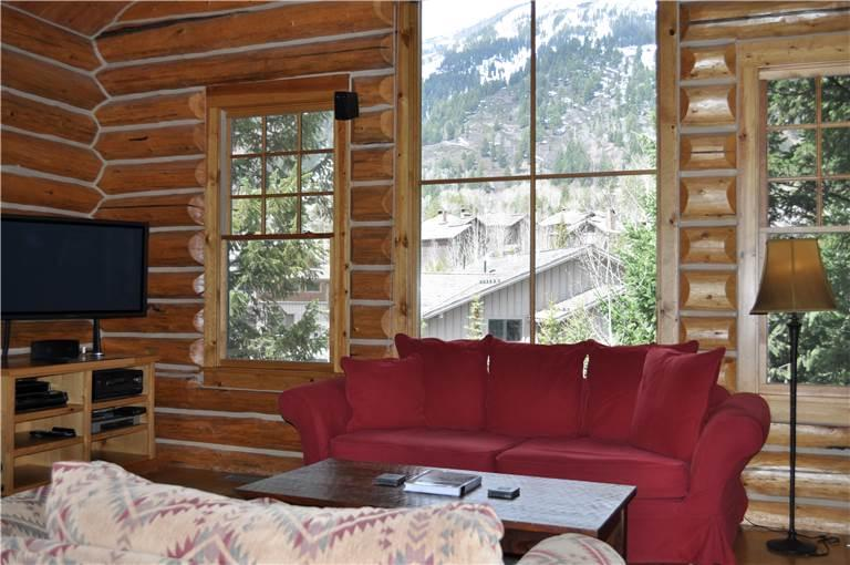 2 bed /2.5 ba- GRANITE RIDGE CABIN 7586 - Image 1 - Teton Village - rentals