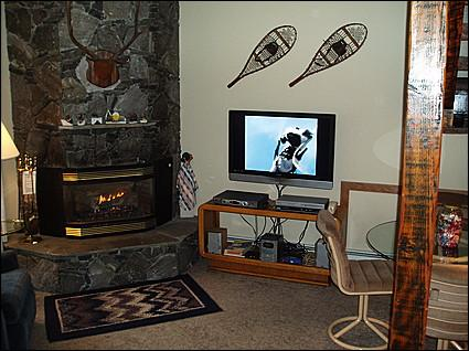 Cozy Living Area - Flat TV, Creekside Views and Access to Private Patio - Gore Creek in Backyard - Close to Lifts, Great Value (2136) - Vail - rentals