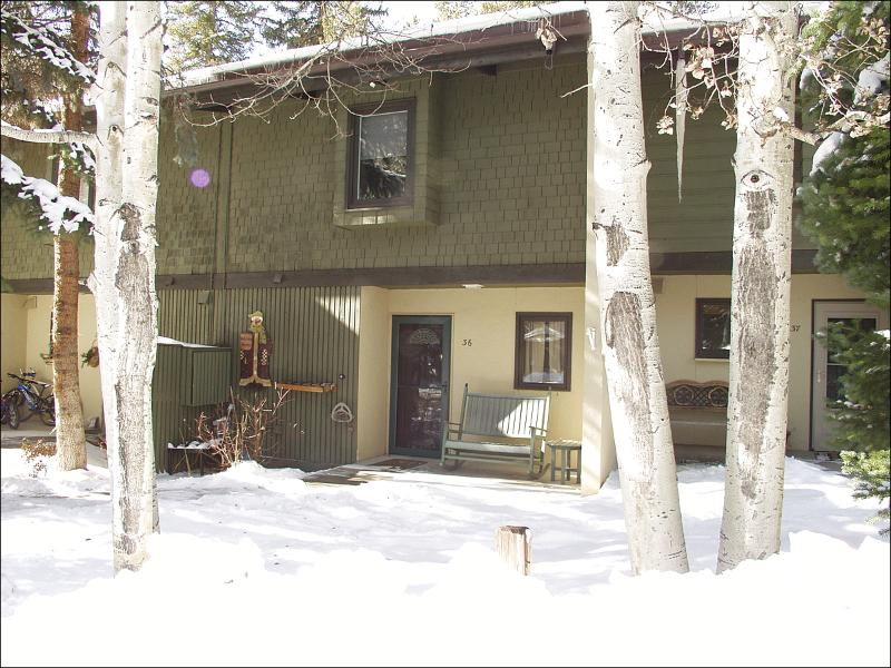 Winter Exterior - Close to Everything - Newly Remodeled Kitchen (2152) - Vail - rentals