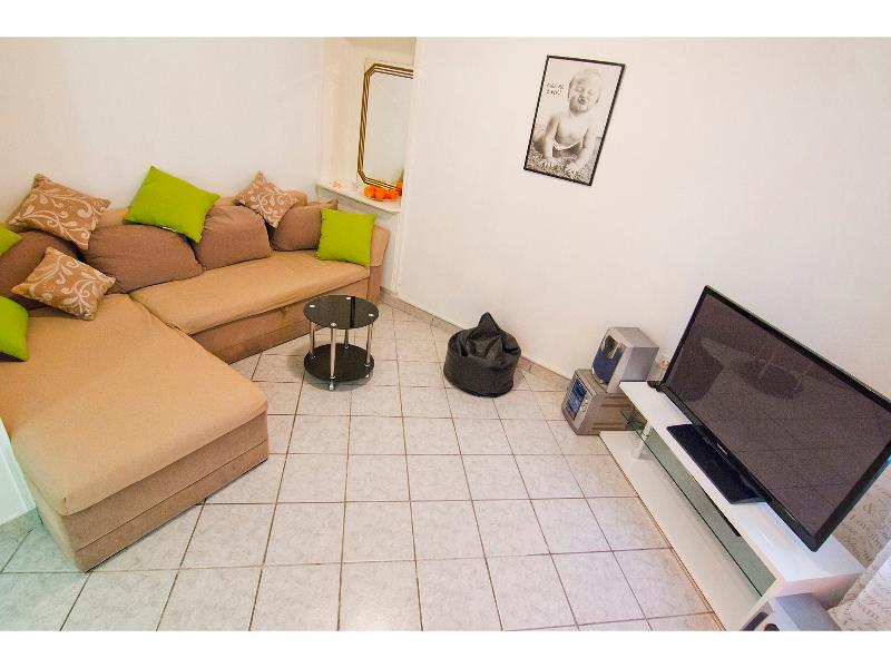 living room - Apartment near famous city beach - Split - rentals