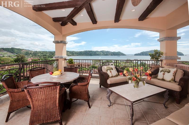 Stunning view of the resort from the balcony. - Los Sueños Jungle Penthouse - Marbella 1D - Herradura - rentals