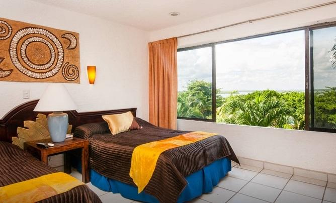Bedroom view - Cancun Condo Lagoon View Hotel Zone - Cancun - rentals