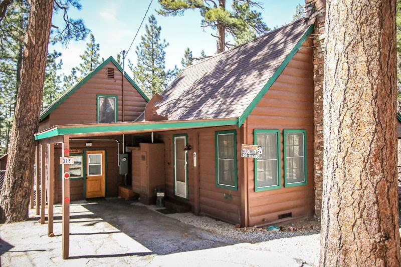 Abe's Amazing Cabin  #1421 - Image 1 - Big Bear Lake - rentals