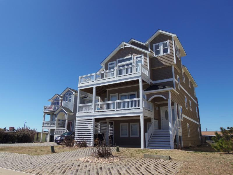 Exterior - Semi-Oceanfront, Elevator, all master BRs, Pool,HT - Nags Head - rentals