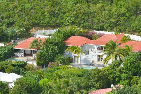 Hillside villa with a gorgeous sea view on Gustavia Harbor WV HSL - Image 1 - Saint Barthelemy - rentals