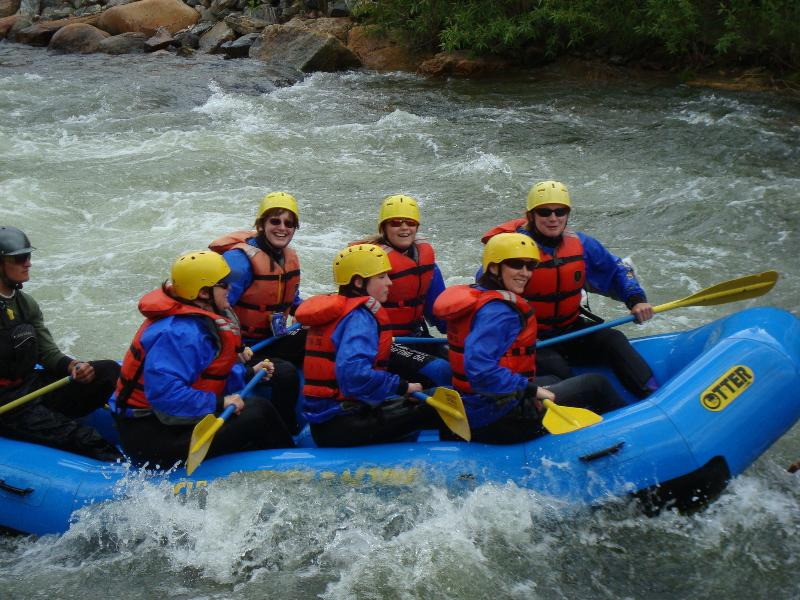 There are several whitewater rafting companies in Idaho Springs to take you for rafting adventure - RUSTIC CABIN IN MNT TOWN HOT SPRINGS/WATER RAFTING - Idaho Springs - rentals