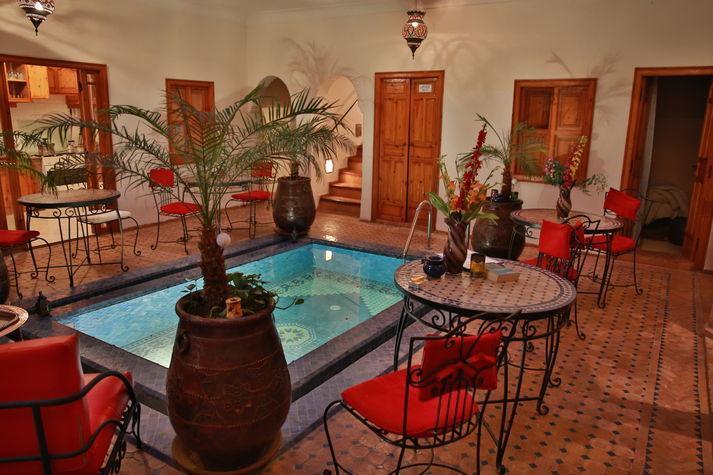 Pool - Riad Kalinka Lotus (Riad with pool in Marrakech) - Marrakech - rentals