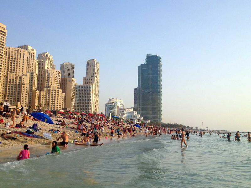 Dubai JBR Spacious Beach Apartment Book Now! - Image 1 - Dubai - rentals