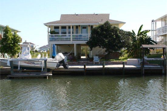 View of Tejas Tides from across the canal - Tejas Tides - Rockport - rentals